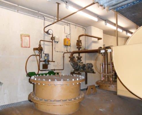 Galerie Tankschutz Vacha - Beseitigung von Korrosionen