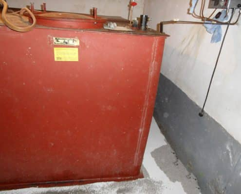 Galerie Tankschutz Vacha - Einsanden von Erdtanks