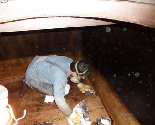 Galerie Tankschutz Vacha - Sanierung von Tankräumen