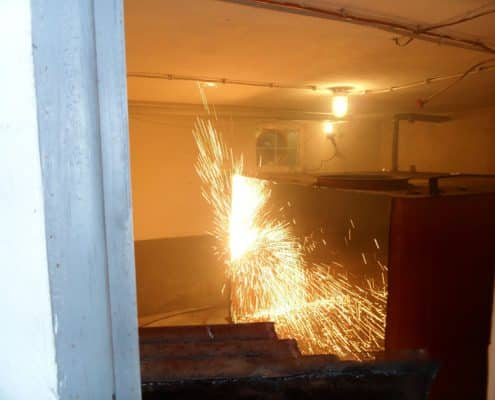 Galerie Tankschutz Vacha - Umbau von Tankanlagen
