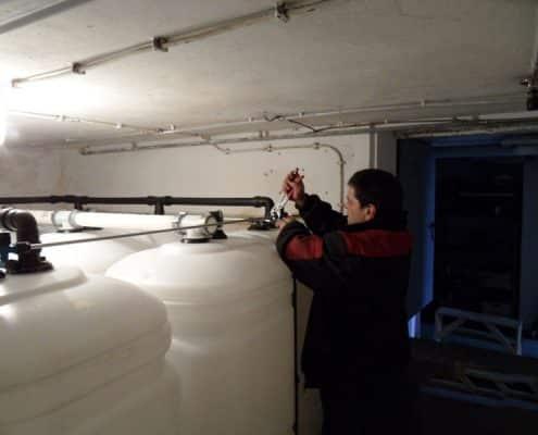 Galerie Tankschutz Vacha - Einbau von Tankschutzanlagen